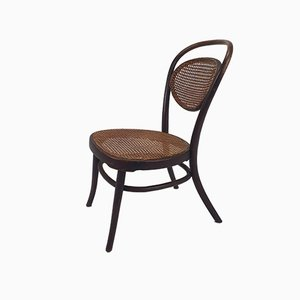 Antique Bentwood and Cane Nursing Chair from Jacob & Josef Kohn