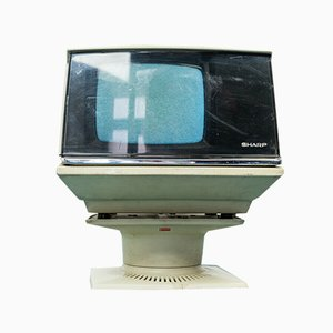 Sharp 5p-12g Space Age TV, 1960er