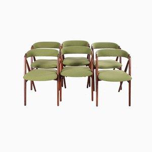 205 Esszimmerstühle von Th. Harlev für Farstrup Møbler, 1960er, 6er Set