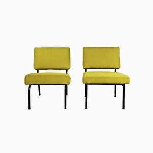 Easy Chairs in the style of Pierre Guariche, 1950s, France, Set of 2