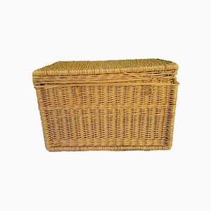 Large Wicker Trunk, 1970s