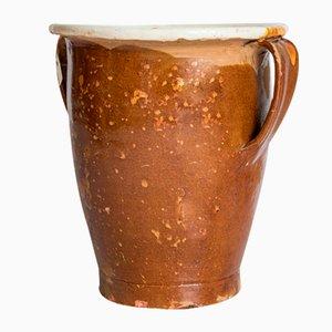 Antike Keramik und Marmor Vase Pitale, Italien