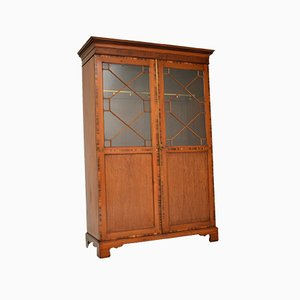 Antique Inlaid Mahogany Wardrobe