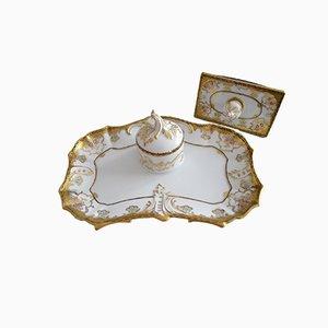 Porcelain Inkstand from Fürstenberg, 1950s