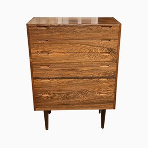 Tall Rosewood Chest of Drawers by Svend Langkilde, 1960s