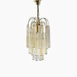 Two-Toned Chandelier by Paolo Venini, 1960s