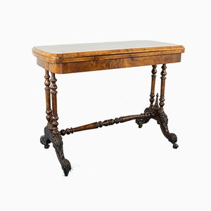 19th Century Walnut Poker Table