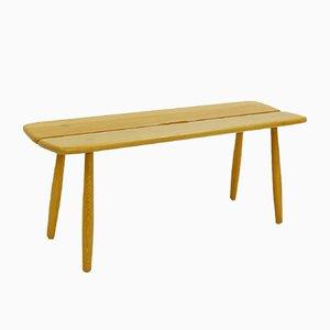 Swedish Oak Bench by Carl Gustaf Boulogner for AB Bröderna Wigells Stolfabrik, 1950s