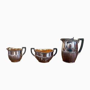 Set da caffè o tè vintage di Langeais, set di 3