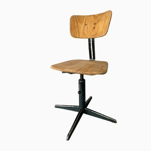 Mid-Century Swivel Chair from Ama Elastic