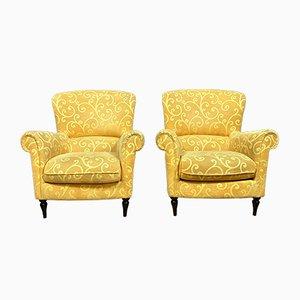 Napolean III Style Armchairs, Set of 2