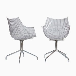 Meridiana Chairs by Christophe Pillet for Driade, 2000s, Set of 4