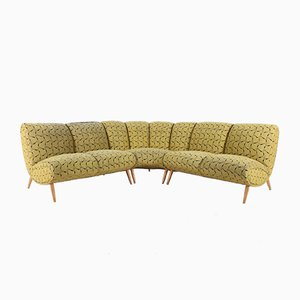 Mid-Century Moduar Sofas by Norman Bel Geddes, Set of 3