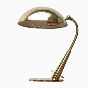 German Mid-Century Brass Table Lamp from Cosack