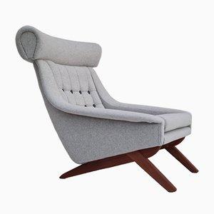 Danish Armchair by Illum Wikkelsø, 1970s