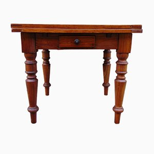 Vintage Rustic Extendable Dining Table