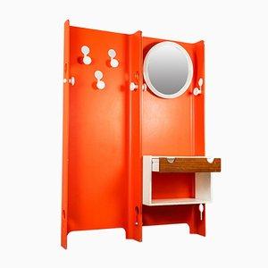 Entrance Coat Rack and Mirror by Carlo de Carli, 1960s