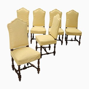 Vintage Dining Chairs, 1950s, Set of 6