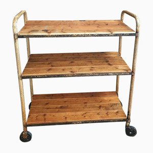 Vintage Trolley with Shelves, 1960s