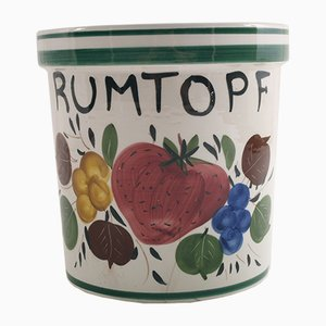 Vaso Rumtopf in ceramica, Germania, anni '30