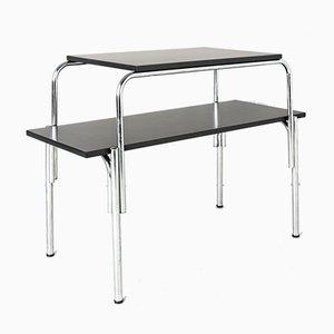 Steel Side Table, France, 1950s