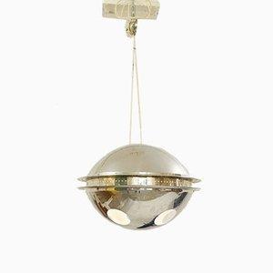Chrome Hanging Lamp, 1970s