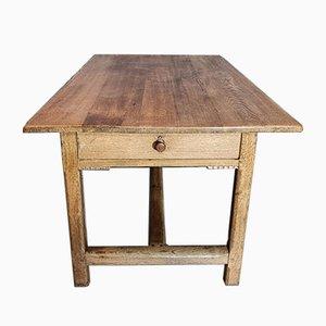 Tavolo da cucina da fattoria, Francia, XVIII secolo