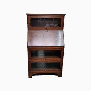 Vintage Barrister's Bureau Bookcase