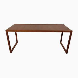 Large Danish Teak Coffee Table, 1960s