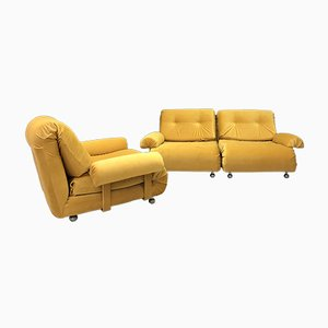 Vintage 3-Seater Modular Sofa Components from G-Plan, Set of 3