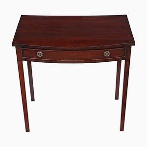 19th Century Mahogany Bow Front Desk