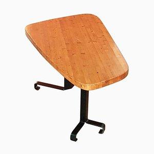 Tavolo da pranzo freeform in pino di Charlotte Perriand, anni '60