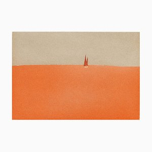 Alex Katz, Red Sails, 2008, Aquatinta Farbe