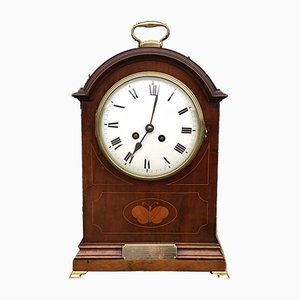 Antique Mahogany Bracket Clock