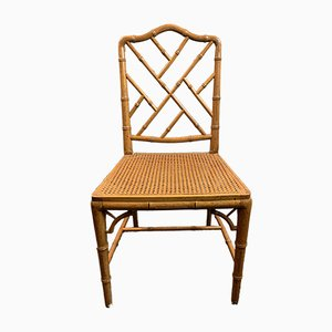 Bamboo Dining Chair, 1970s