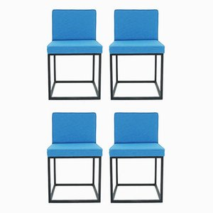 Swiss Architectural Chairs by Kurt Thut, 1960s, Set of 4
