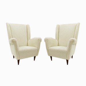 Armchairs in the Style of Gio Ponti, 1960s, Set of 2