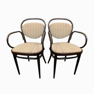 No. 78 Thonet Armchairs by Michael Thonet for Thonet, 1970s, Set of 2