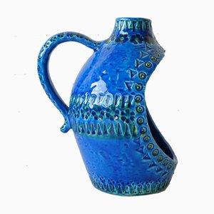 Bougeoir en Forme de Vase de Bitossi, Italie, 1950s