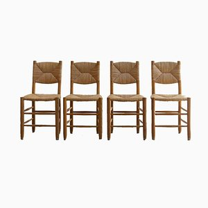 Bauche Chairs by Charlotte Perriand, 1950s, Set of 4