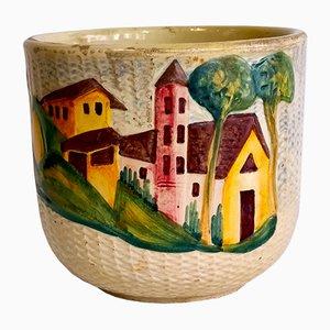 Vaso in ceramica di Guido Bitossi, anni '30