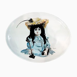 Decorative Plate from Veronica Stedile, 1960s
