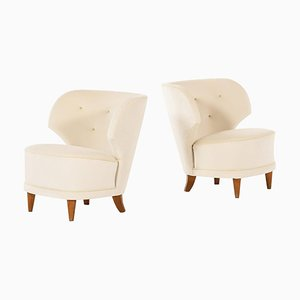 Easy Chairs by Carl-johan Boman, Finland, Set of 2