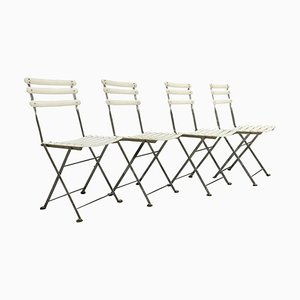 Arc En Ciel Steel Folding Chairs from Emu, Set of 4