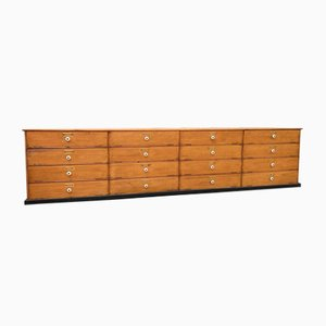 Large Cabinet with 16 Flap Drawers