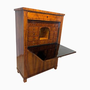Neoclassical Biedermeier Secretaire in Walnut, 1830s