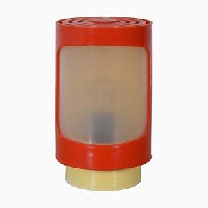 Mid-Century Plastic Table Lamp, 1970s