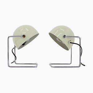 Lampes de Bureau Type 85104 par Josef Hurka pour Napako, 1960s, Set de 2