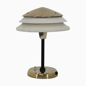 Brass Table Lamp from Zukov, 1950s