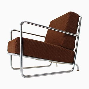 Chrome Bauhaus Armchair, 1930s